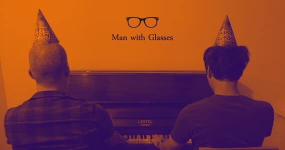 Introducing: Man With Glasses