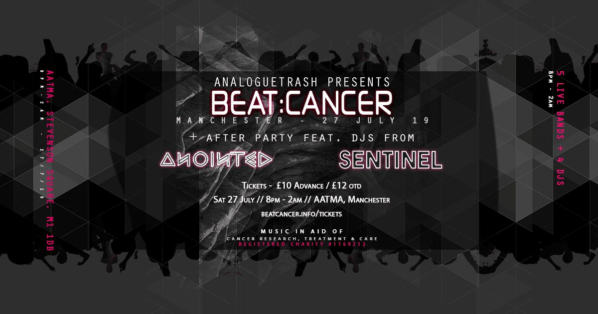 Beat:cancer Returns To Manchester This July