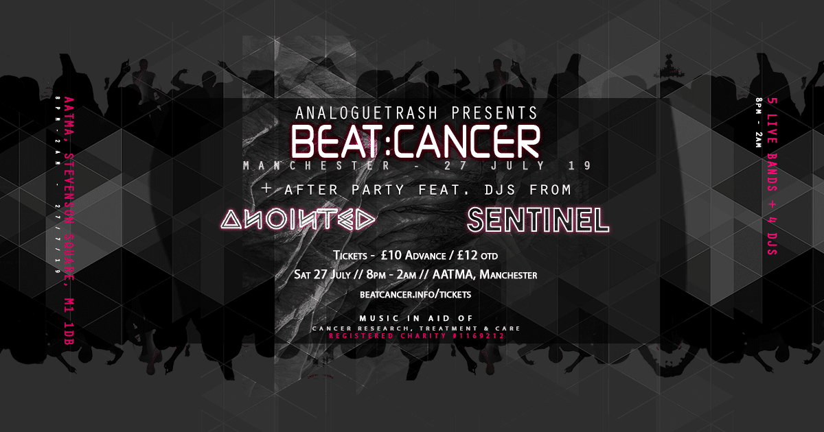 Beat:Cancer - Manchester